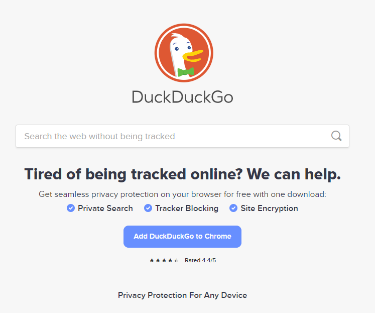 How to protect your online privacy - DuckDuckGo